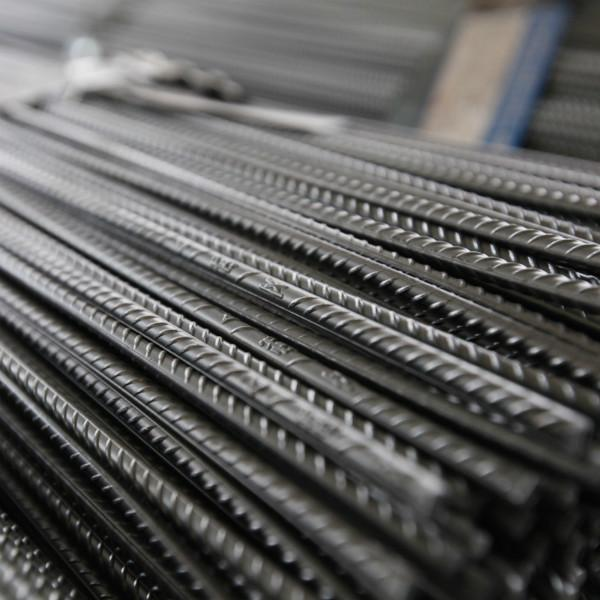 Cold rolled ribbed steel wires and bar