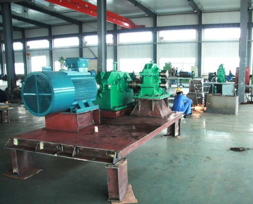 cold rolling mill assembly workshop