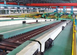 High speed cold rolled ribbed steel coil production line